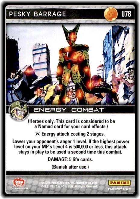 Dragon Ball Z Perfection Uncommon Pesky Barrage U78