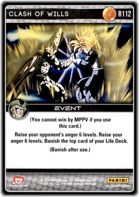 Dragon Ball Z Perfection Rare Clash of Wills R112