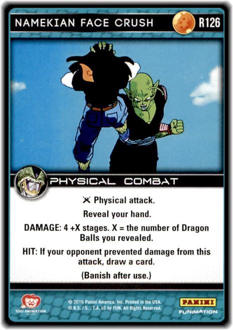 Dragon Ball Z Perfection Rare Namekian Face Crush R126