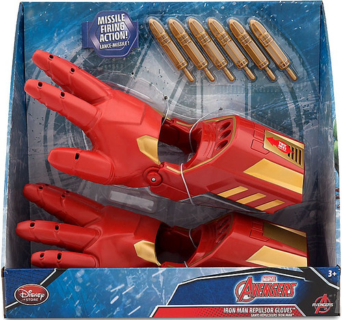 Disney Marvel Avengers Iron Man Repulsor Gloves Exclusive Roleplay Toy [2016 / 2017]
