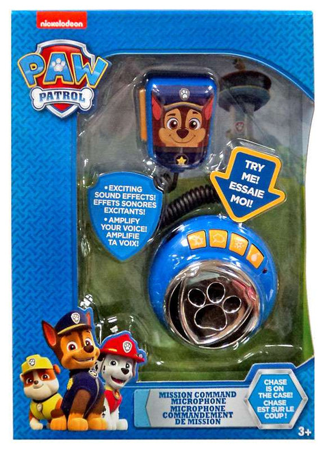 Paw Patrol Mission Command Microphone Roleplay Toy