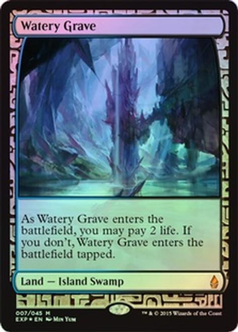 MtG Battle for Zendikar Rare Watery Grave [Zendikar Expedition]