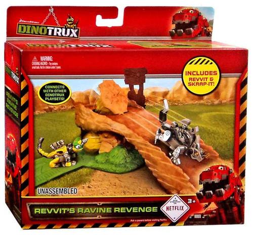 Dinotrux Revvit's Ravine Revenge Exclusive Playset