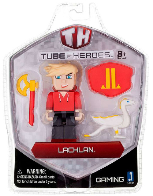 Tube Heroes Lachlan Action Figure