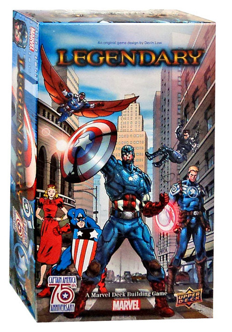 Marvel Legendary Captain America 75th Anniversary Deck Building Game Expansion
