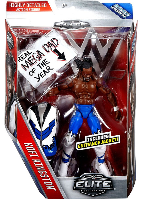 WWE Wrestling Elite Collection Series 43 Kofi Kingston (New Day) Action Figure [Entrance Jacket]