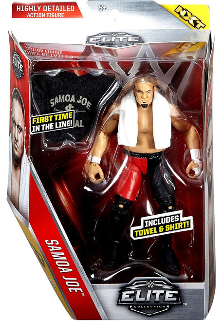 WWE Wrestling Elite Collection Series 43 Samoa Joe Action Figure [Towel & Shirt]