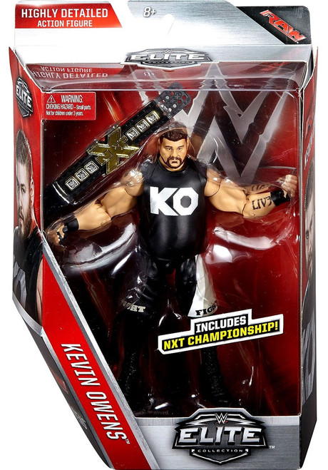 WWE Wrestling Elite Collection Series 43 Kevin Owens Action Figure [NXTChampionship]