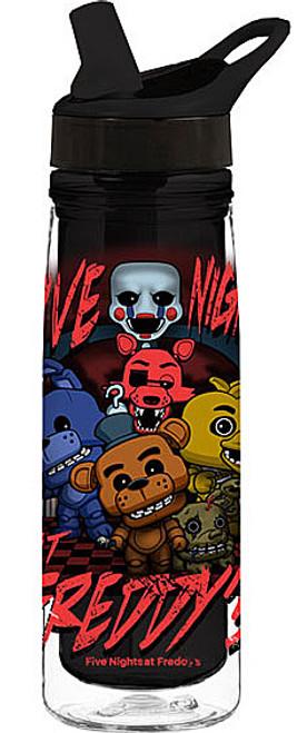 Funko Five Nights at Freddy's Five Nights Acrylic Water Bottle
