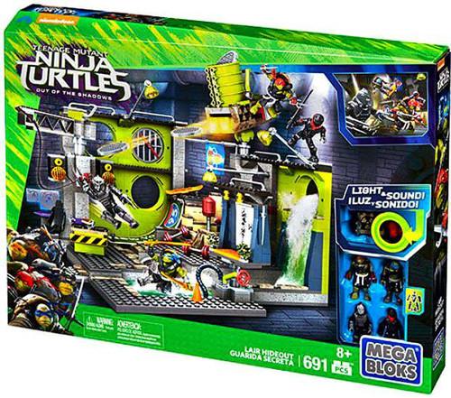 Mega Bloks Teenage Mutant Ninja Turtles Out of the Shadows Lair Hideout Set #31579