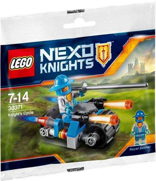 LEGO Nexo Knights Knight's Cycle Set #30371 [Bagged]