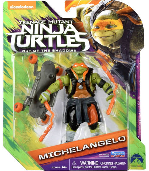 Teenage Mutant Ninja Turtles Out of the Shadows Michelangelo Action Figure