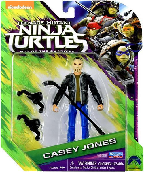 Teenage Mutant Ninja Turtles Out of the Shadows Casey Jones Action Figure [Mask On]