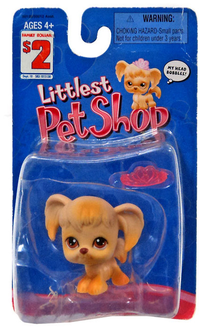 Littlest Pet Shop Cocker Spaniel Figure [with Pink Crown]
