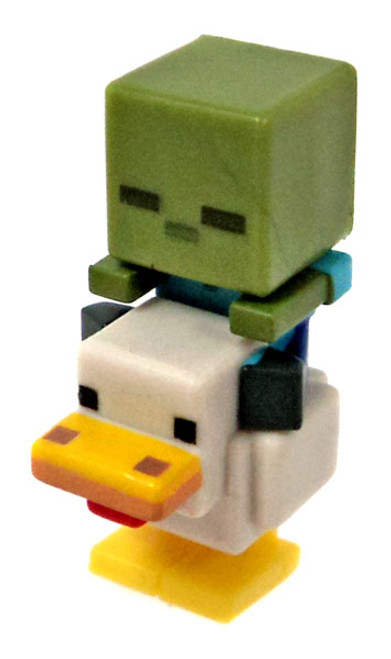 Minecraft Ice Series 5 Chicken Zombie Mini Figure [Loose]