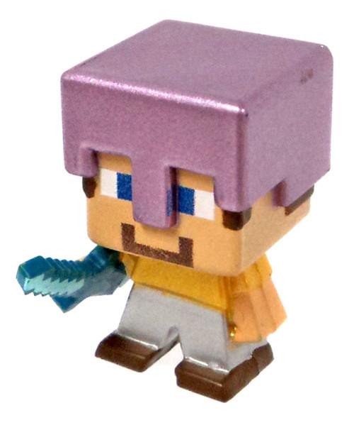 Minecraft Ice Series 5 Steve with Mismatched Armor Mini Figure [Loose]