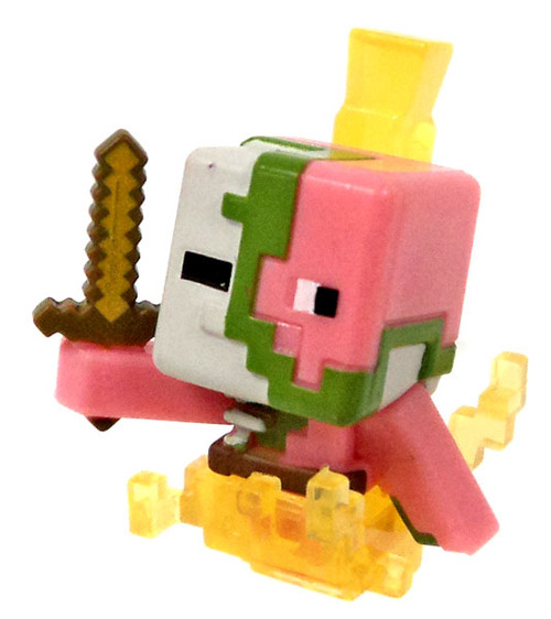Minecraft Ice Series 5 Spawning Zombie Pigman Mini Figure [Loose]