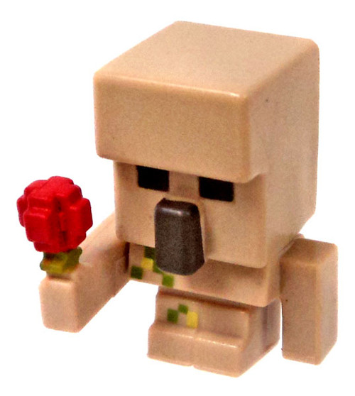 Minecraft Ice Series 5 Iron Golem with Flower Mini Figure [Loose]