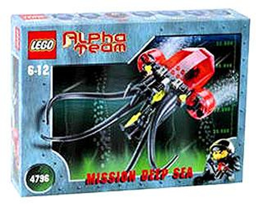 LEGO Alpha Team Mission Deep Sea Ogel Mutant Squid Deep Sea Set #4796 [Damaged Package]