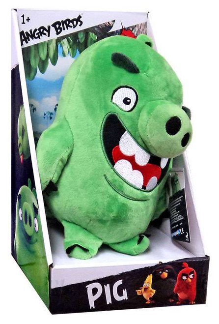 Angry Birds Movie Pig 11-Inch Plush [Talking]