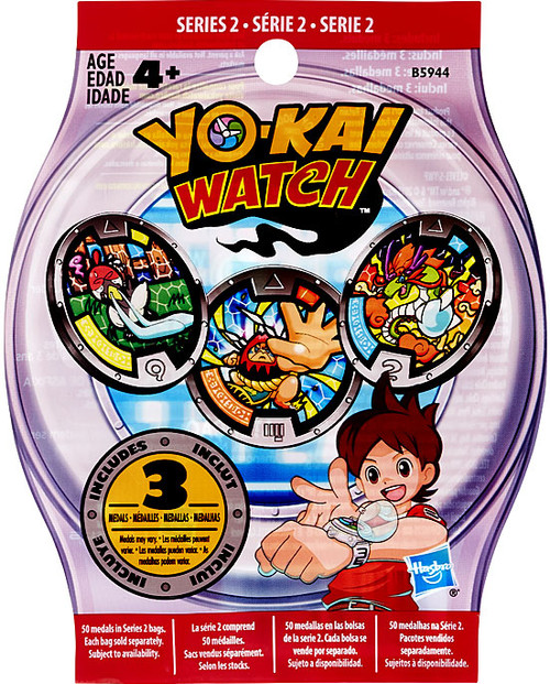 Yo-Kai Watch Series 2 YOKAI MEDALS Mystery Pack