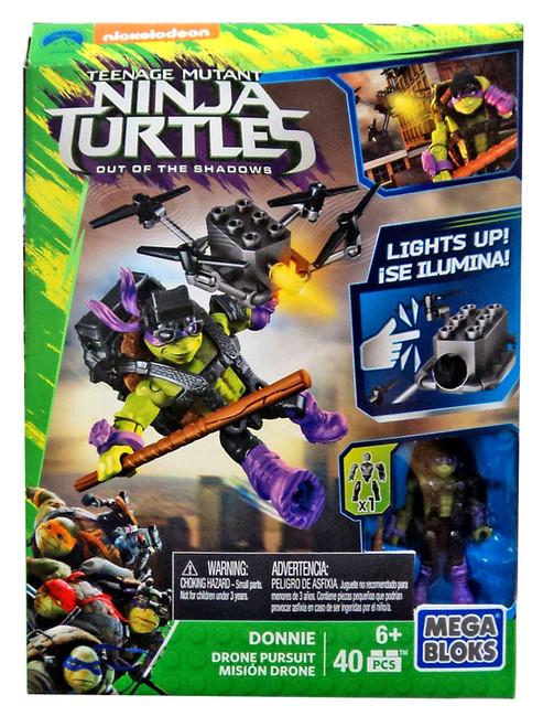 Mega Bloks Teenage Mutant Ninja Turtles Out of the Shadows Donnie Drone Pursuit Set #31598