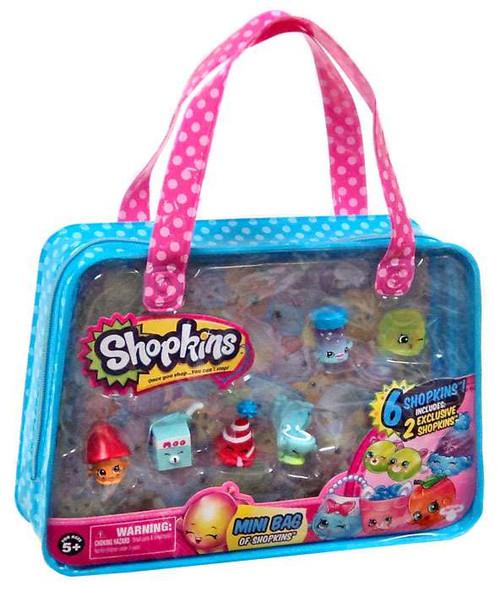 Mini Bag of Shopkins [2 Exclusive Shopkins, RANDOM Color]