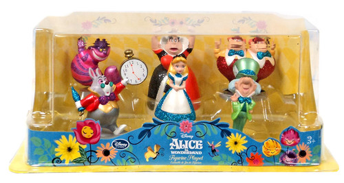Disney Alice in Wonderland Figurine Playset [Glitter]