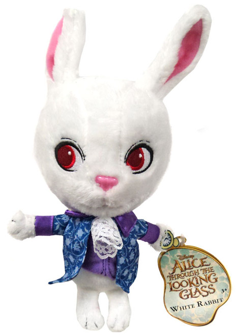Disney Alice Through the Looking Glass White Rabbit 7-Inch Plush