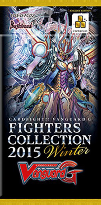Cardfight Vanguard Trading Card Game Fighters Collection 2015 Winter Booster Pack VGE-G-FC02