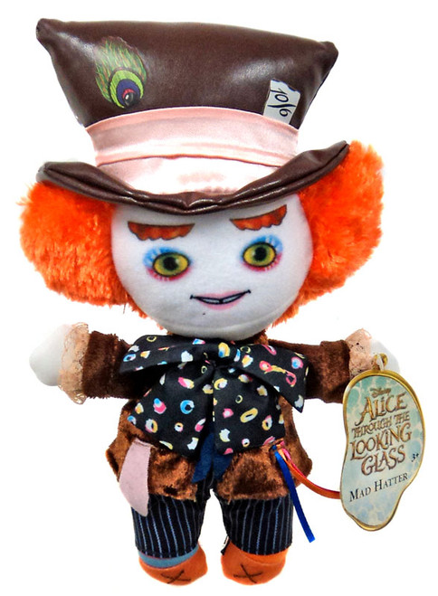 Disney Alice Through the Looking Glass Mad Hatter 7-Inch Plush