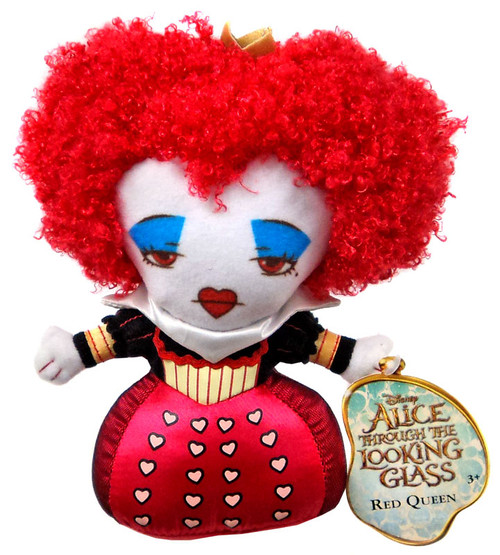 Disney Alice Through the Looking Glass Red Queen 7-Inch Plush