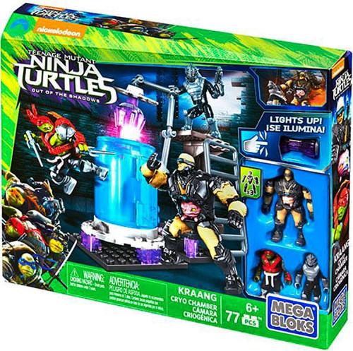 Mega Bloks Teenage Mutant Ninja Turtles Out of the Shadows Kraang Cryo Chamber Set #33663