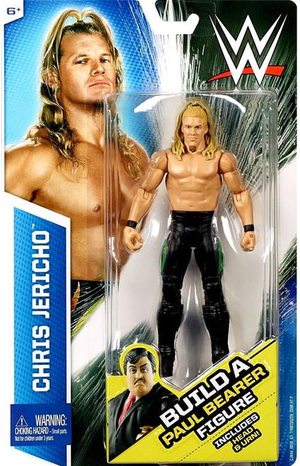 WWE Wrestling Chris Jericho Action Figure [Build Paul Bearer]