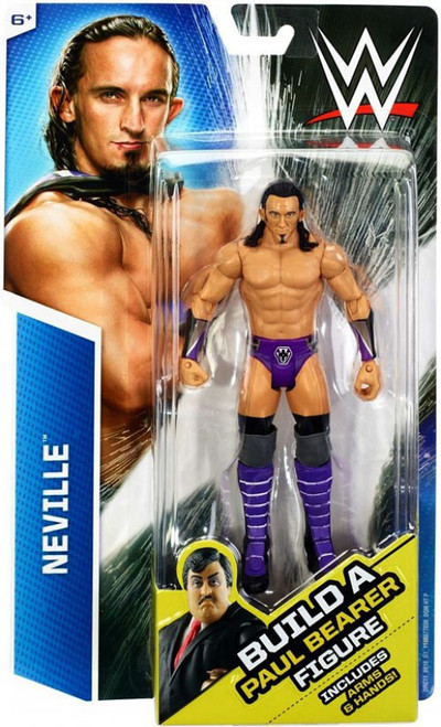 WWE Wrestling Neville Action Figure [Build Paul Bearer]