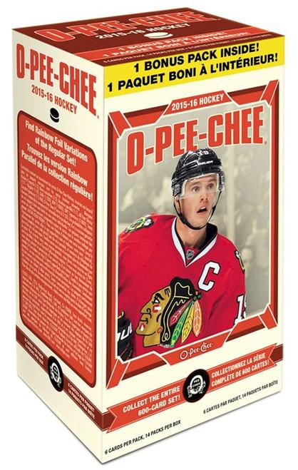 NHL 2015-16 O-Pee-Chee Hockey Trading Card BLASTER Box [14 Packs]