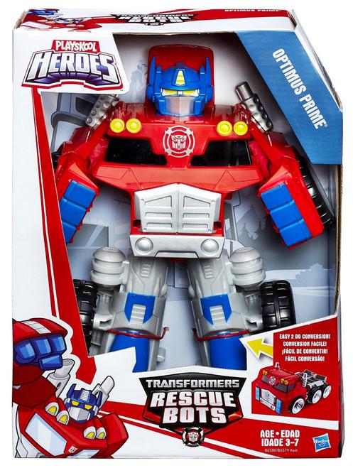 Transformers Playskool Heroes Rescue Bots Optimus Prime Action Figure [2016]