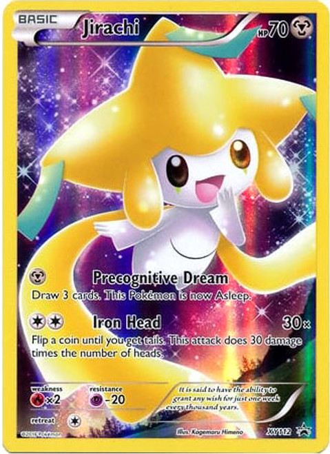 Pokemon X & Y Promo Promo Holo Full Art Jirachi XY112