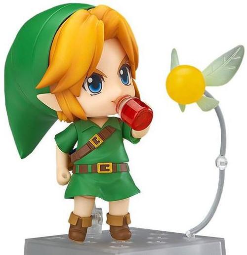 The Legend of Zelda Majora's Mask Nendoroid Link Action Figure [3D Version]