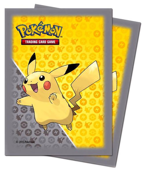 Ultra Pro Pokemon Trading Card Game Pikachu Card Sleeves [Yellow & Gray]