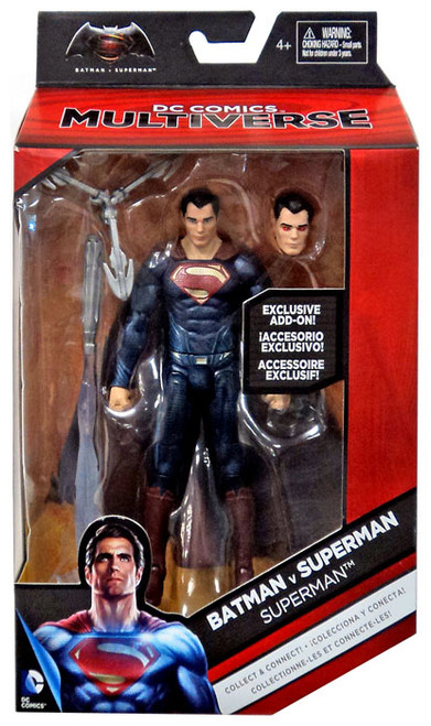 DC Batman v Superman: Dawn of Justice Multiverse Grapnel Blaster Series Superman Exclusive Action Figure [Exclusive Add-On]