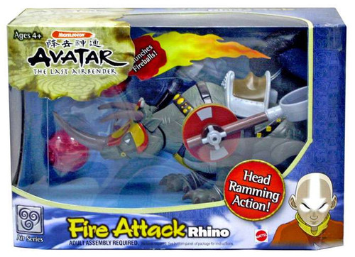 Avatar the Last Airbender Fire Attack Rhino [Damaged Package]