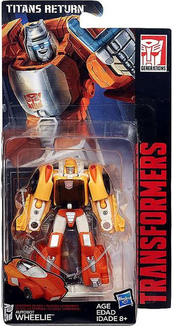 Transformers Generations Titans Return Wheelie Legend Action Figure