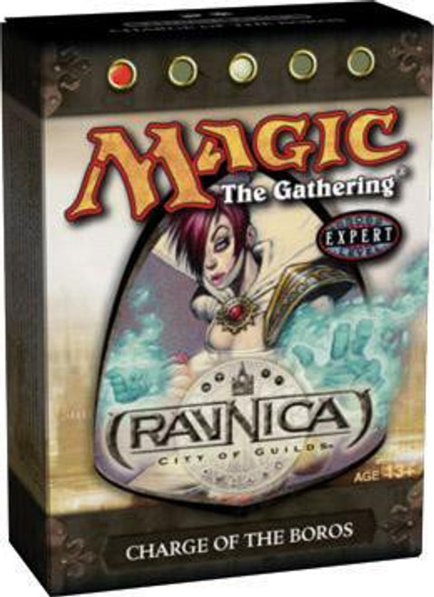 MtG Trading Card Game Ravnica: City of Guilds Charge of the Boros Theme Deck