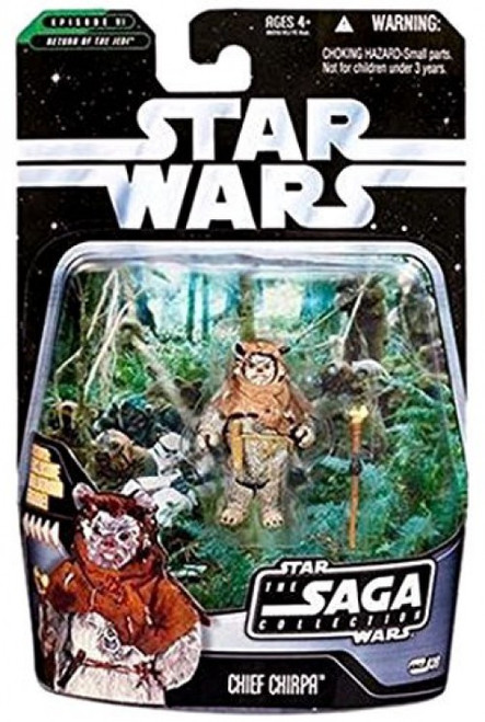 Star Wars Return of the Jedi 2006 Saga Collection Chief Chirpa Action Figure