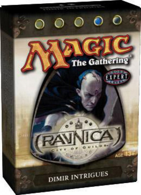 MtG Trading Card Game Ravnica: City of Guilds Dimir Intrigues Theme Deck