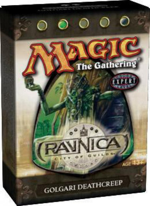 MtG Trading Card Game Ravnica: City of Guilds Golgari Deathcreep Theme Deck