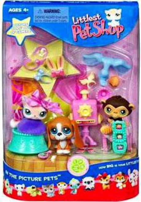 Littlest Pet Shop In the Picture Pets Playset