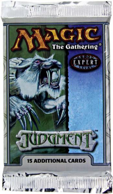 MtG Trading Card Game Judgment Booster Pack [15 Cards]