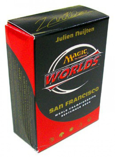 MtG Trading Card Game 2004 World Championship Julien Nuijten Championship Deck